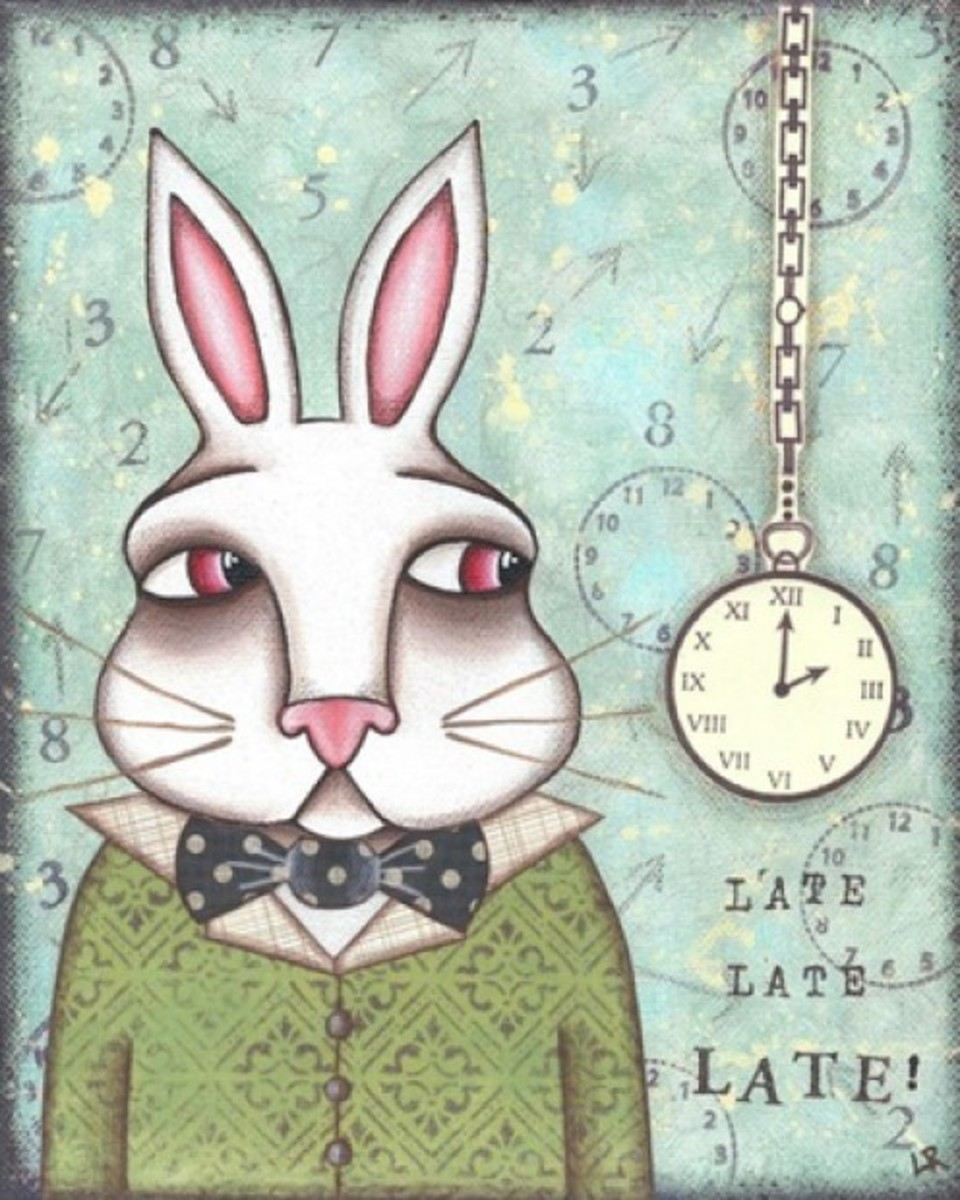 """White Rabbit"" by Lori Ramotar"