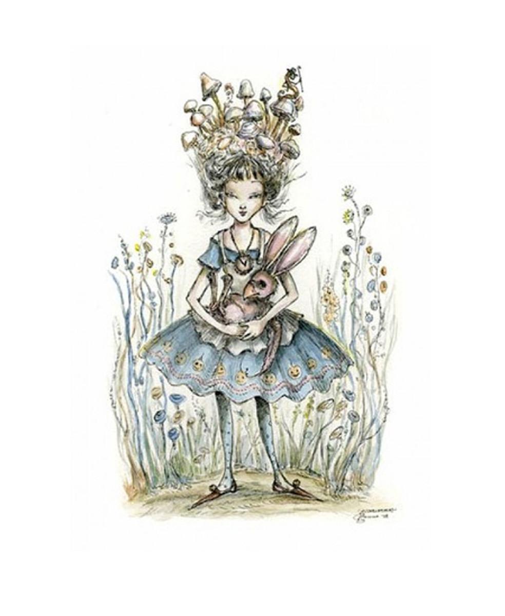 """""""Mushroomhead"""" by Paulina Cassidy"""