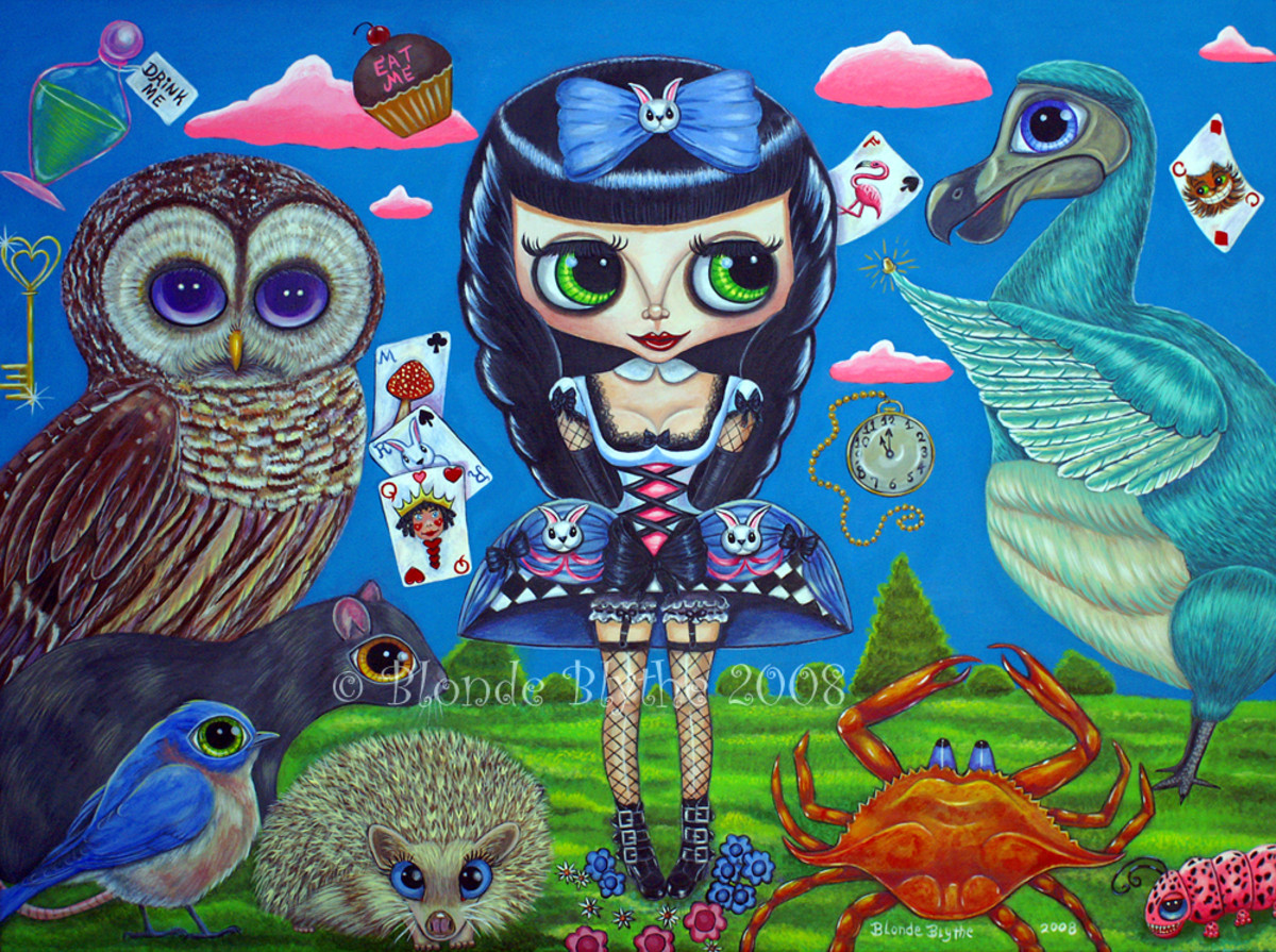"""Kawaii Noir Alice in Wonderland II: The Caucus Race"" (2008)"
