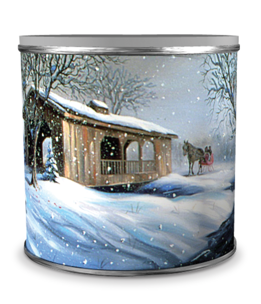 Collectible popcorn tins are back in 2014.  Start your collection today.