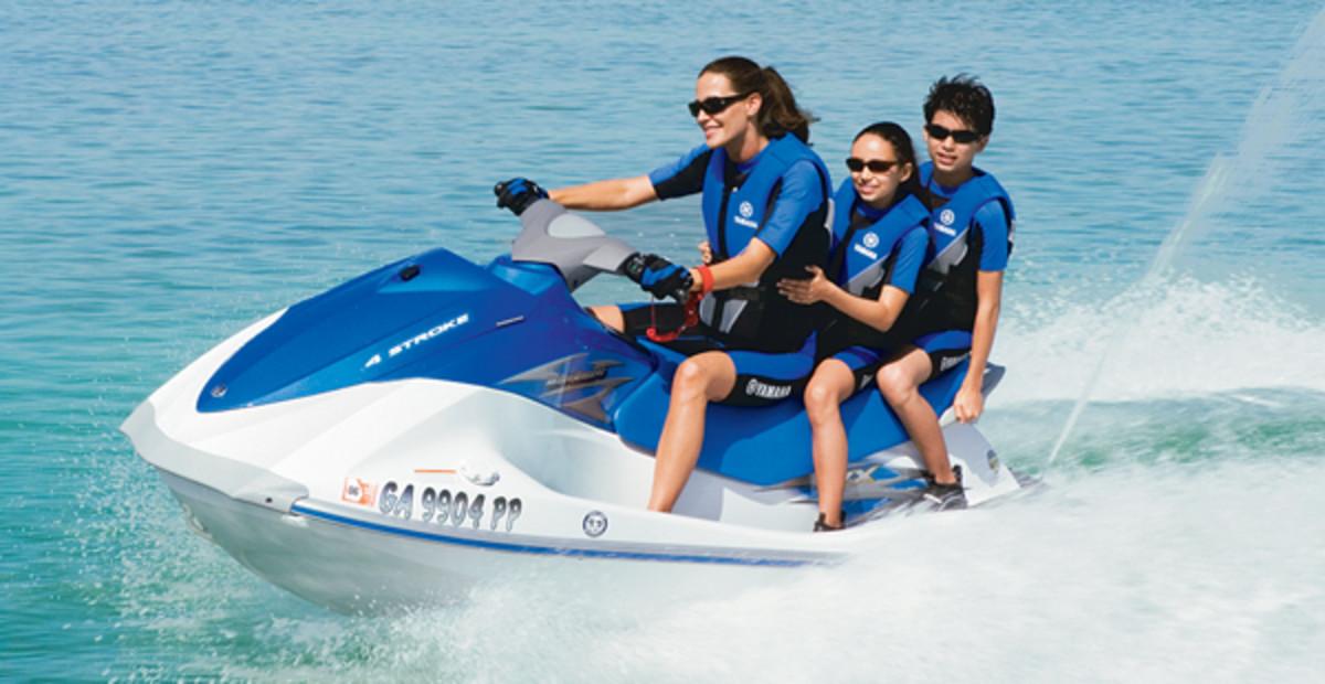 YAMAHA family jet ski
