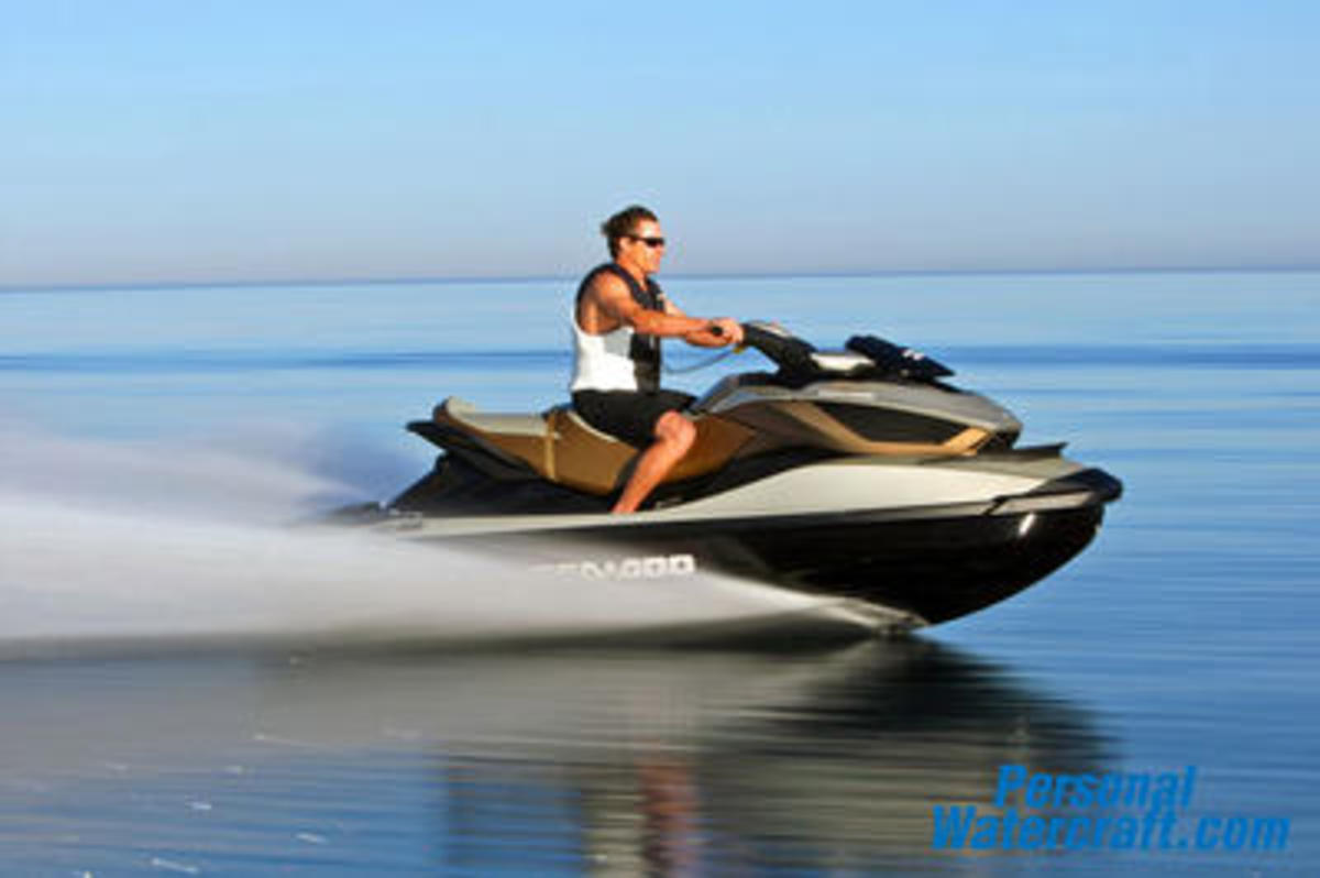 The GTX Sea-Doo makes everything else seem to stand still.