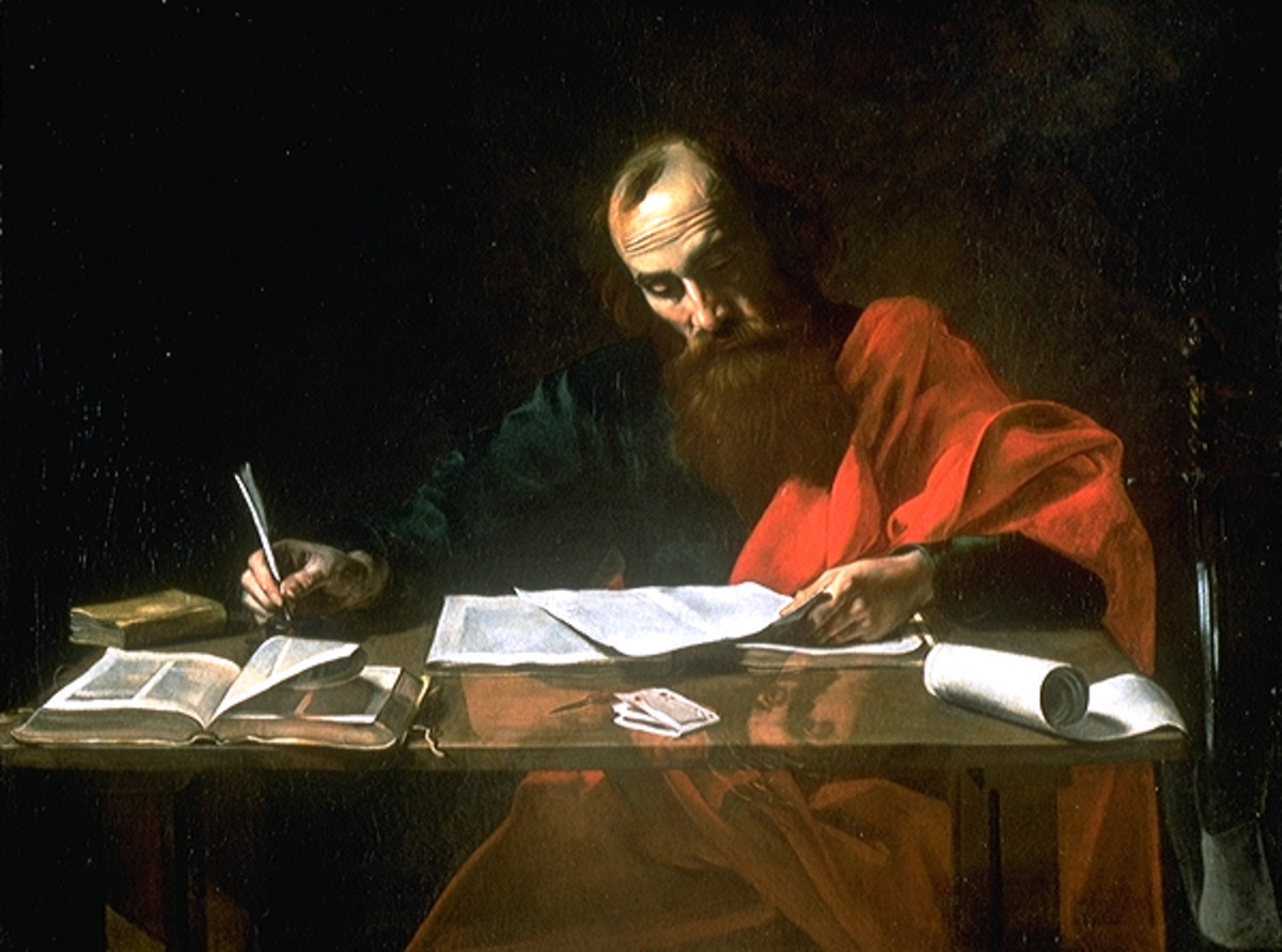 PAUL THE APOSTLE PAINTING FROM 16TH CENTURY