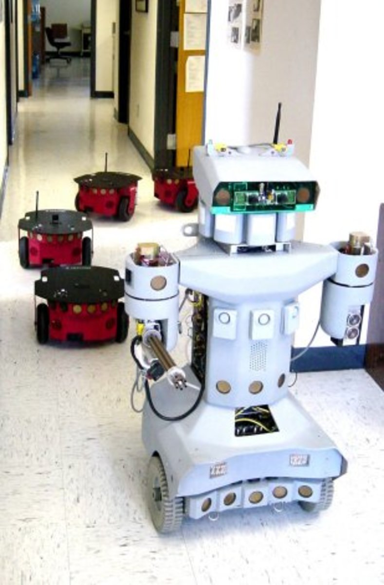 Robotics and their future applications and usage are now becoming a reality