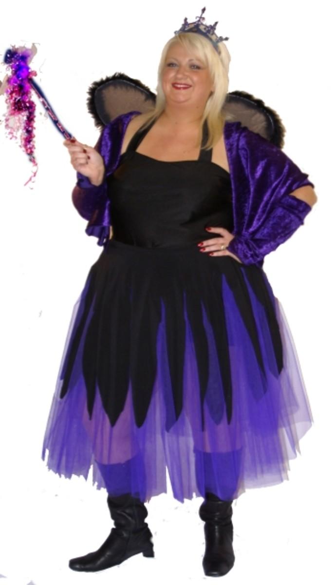 plus size gothic fairy halloween costume - Size 18 Halloween Costumes
