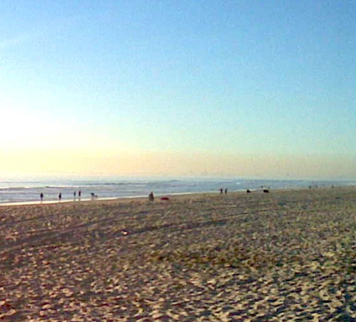 Beach in Orange County, California / E. A. Wright 2008