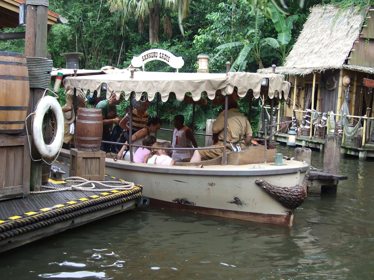 Magic Kingdom Jungle Cruise