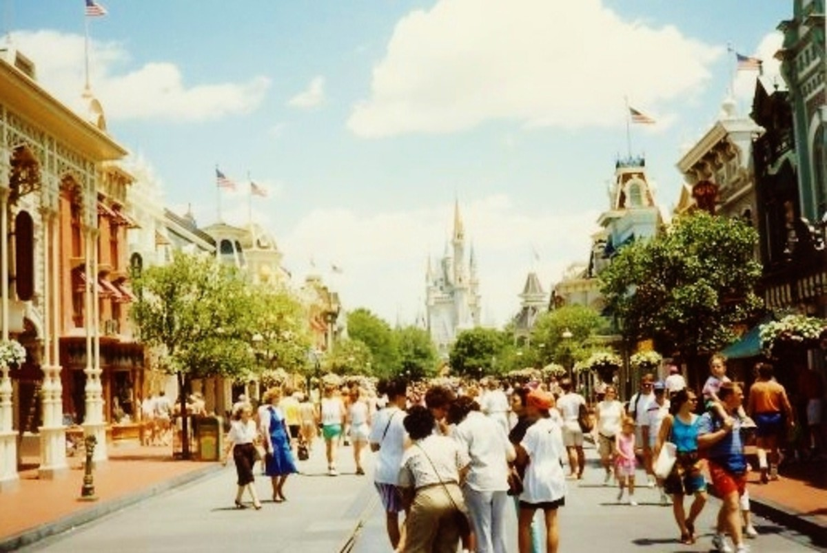 Disney World Pictures ~ Vacation in Florida, USA at the Magic Kingdom