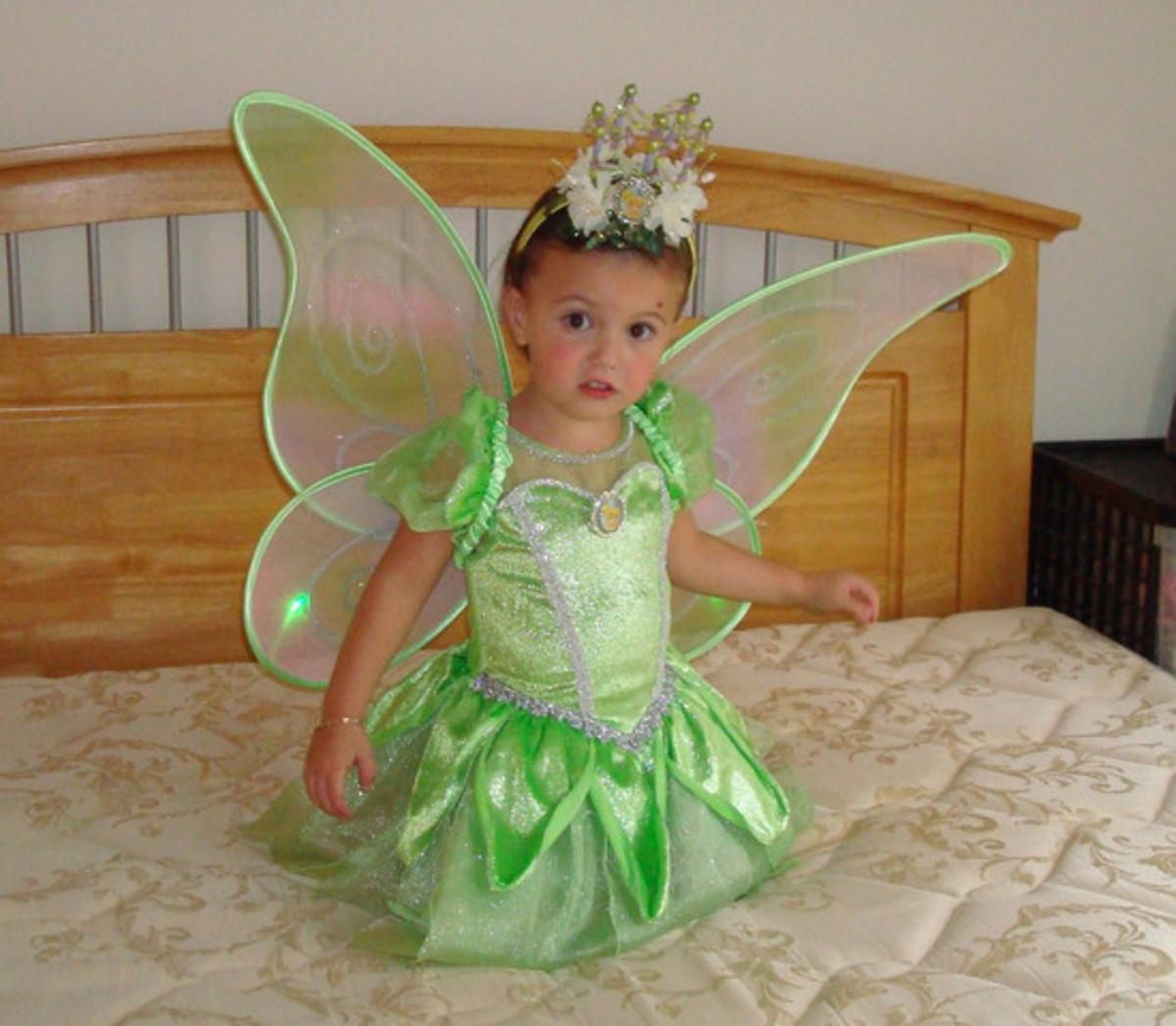 Tinkerbell Halloween Costume Ideas