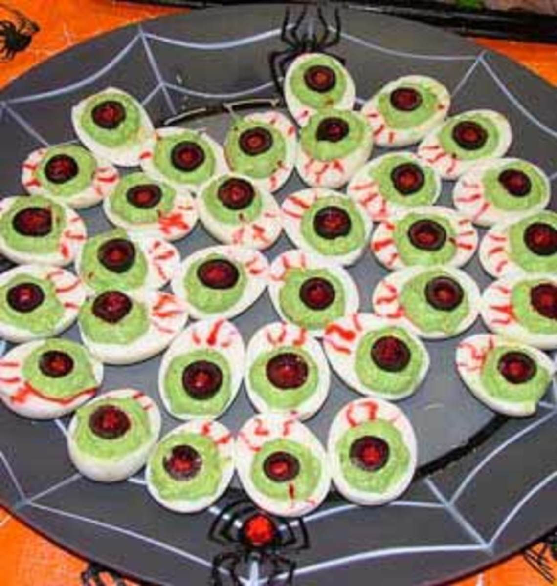 How to Make Halloween Deviled Eggs
