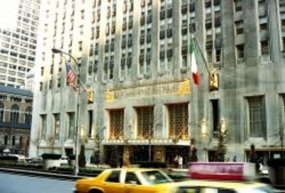 Waldorf-Astoria Hotel in New York City