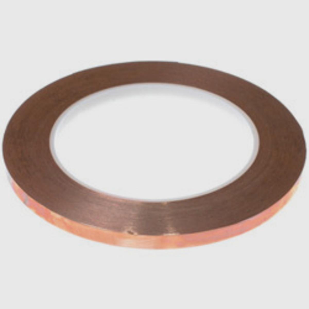Copper foil - several different types, black backed, silver back, copper backed as well as different widths.