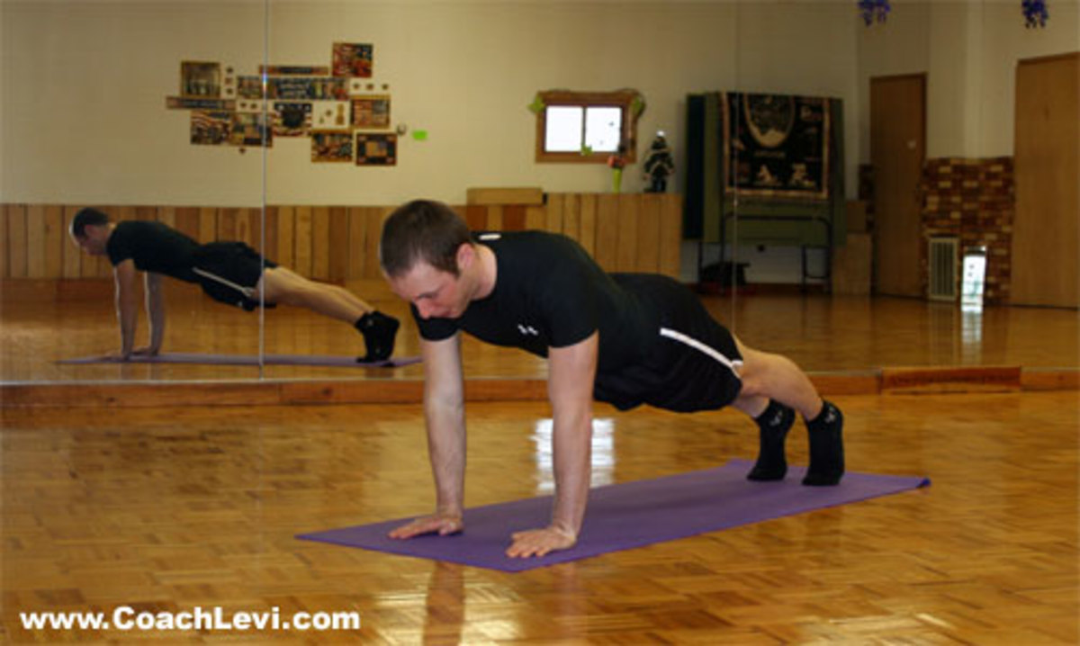 Close grip pushup , you can even move your hands closer