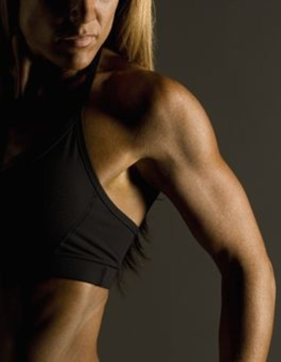 how to get rid of flabby arms without building muscle