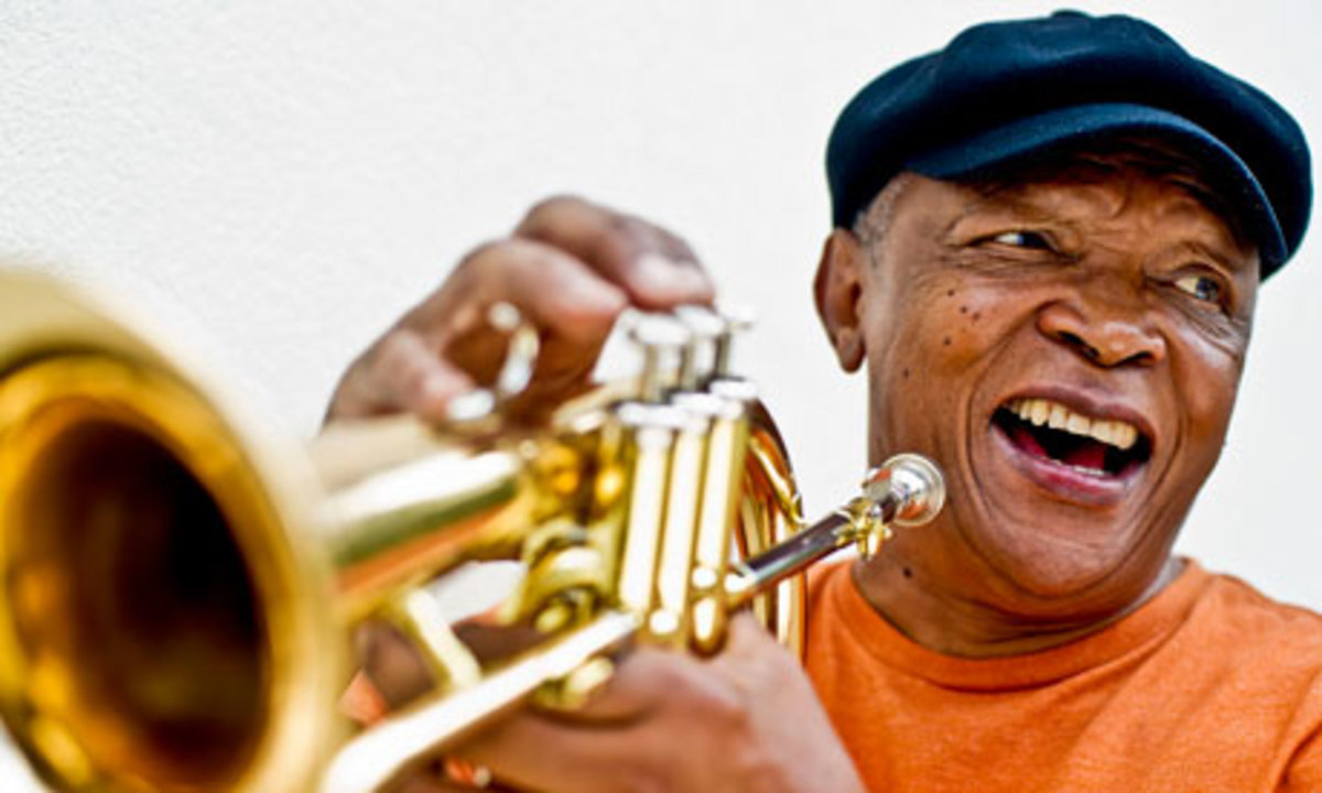 Legendary Soouth African Trumpeter, influenced by American and Many South African Musicians
