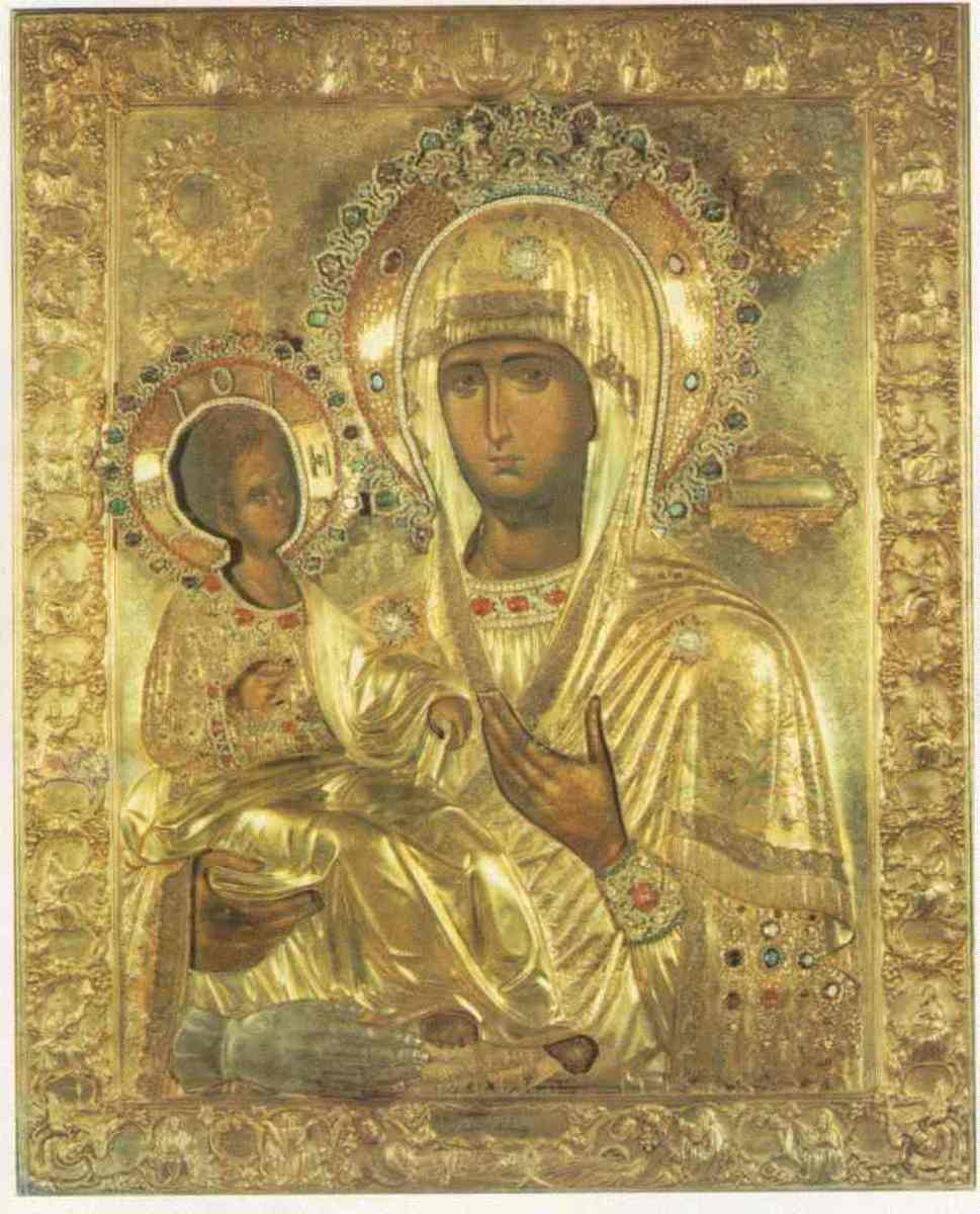 """OF THREE HANDS"" ORTHODOX ICON"
