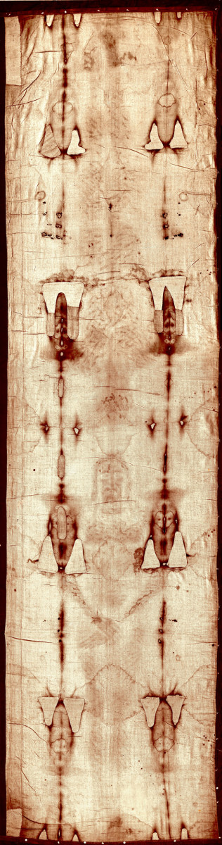 COMPLETE SHROUD OF TURIN