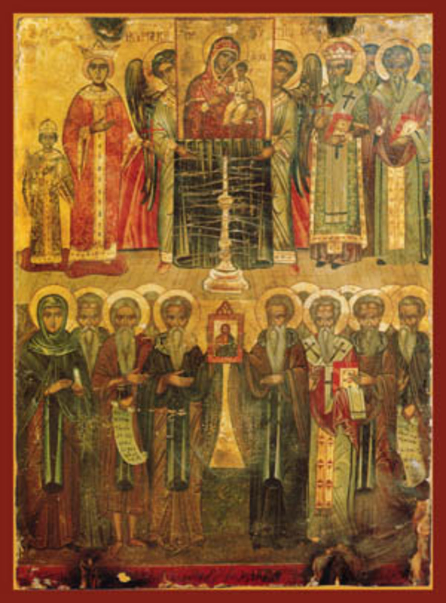 ORTHODOX ICON IN LEBANON