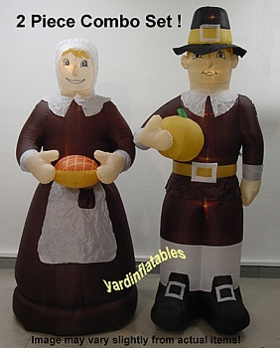 Outdoor inflatable thanksgiving yard decorations hubpages