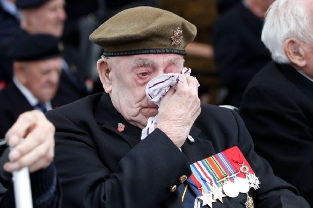 A Dunkirk veteran in 2019