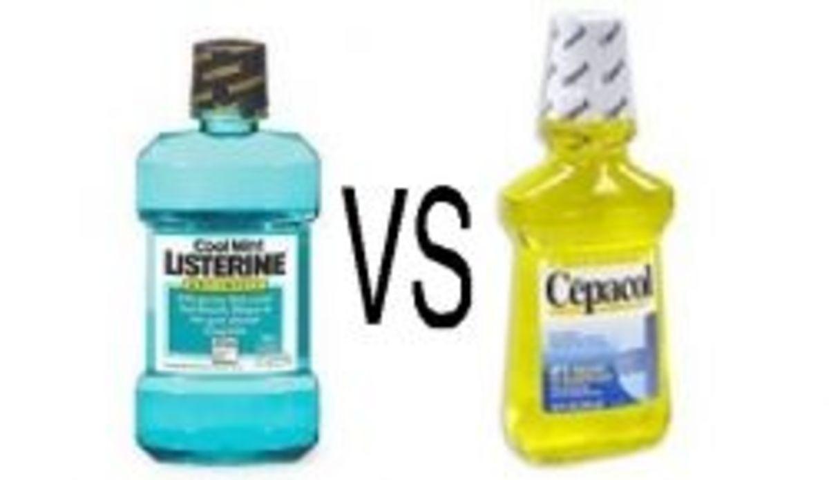 Listerine vs Cepacol Mouthwash