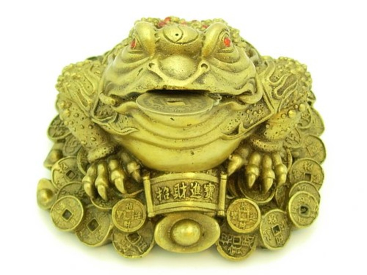 Three Legged Money Frog Feng Shui Symbol For Wealth Information