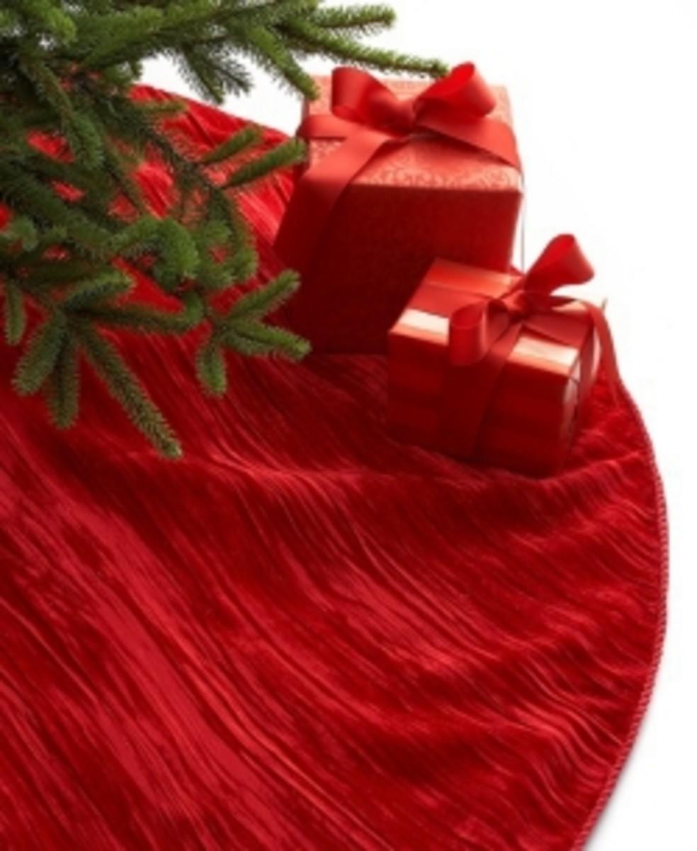 Velvet Christmas Tree Skirts