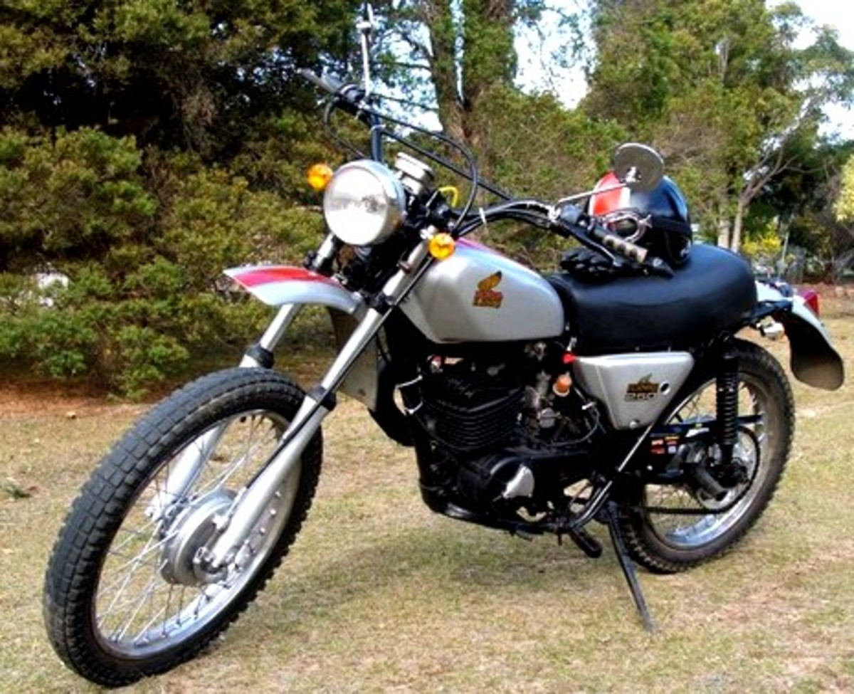 My MT250 a pleasure to look at and to ride.