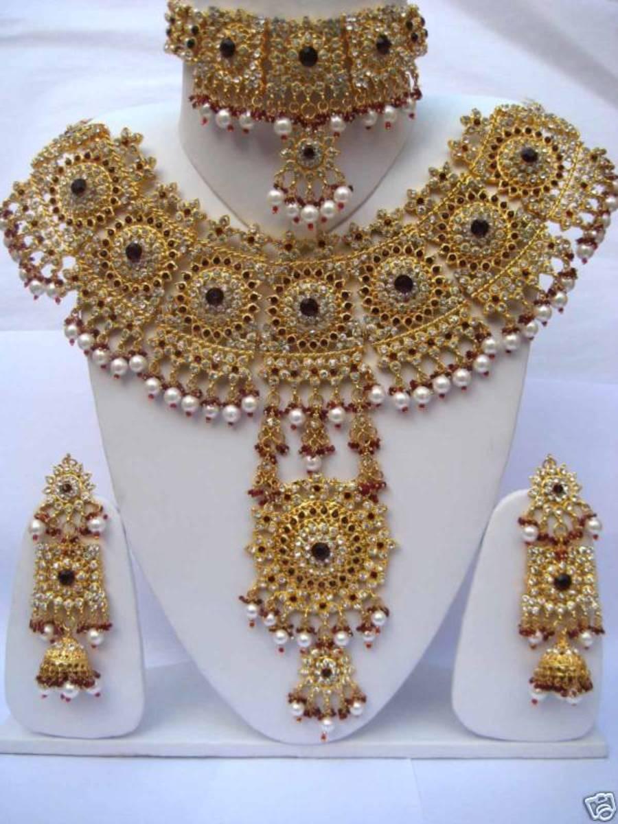 bridal gold design