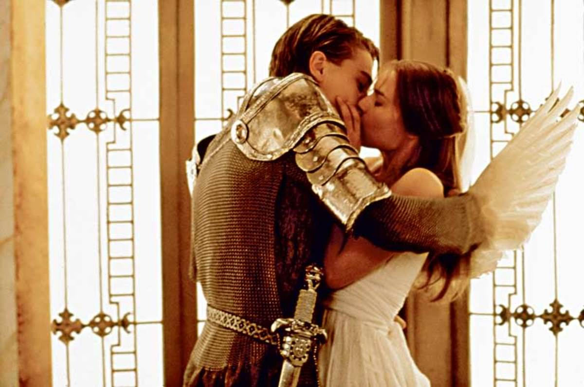 Romeo & Juliet inside an elevator
