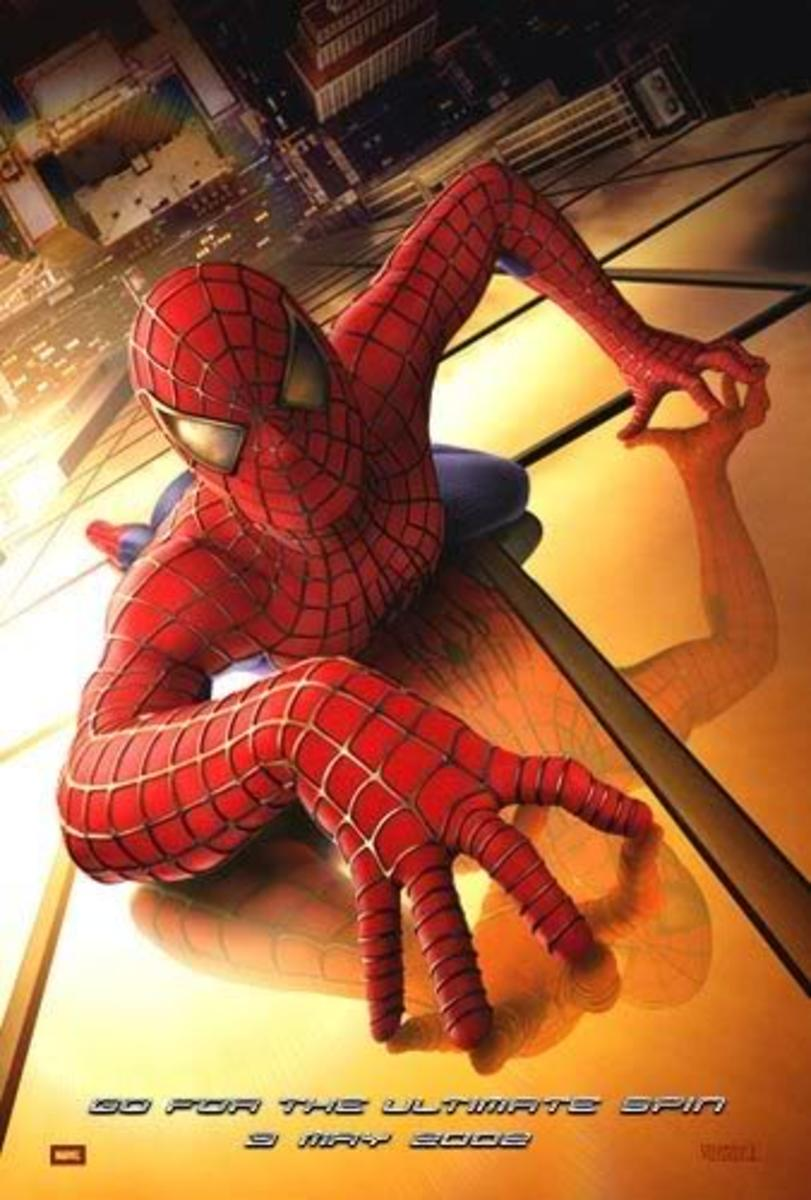 Spiderman movie poster