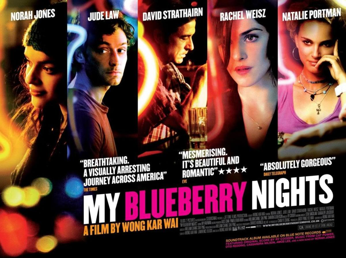 My Blueberry Nights movie poster