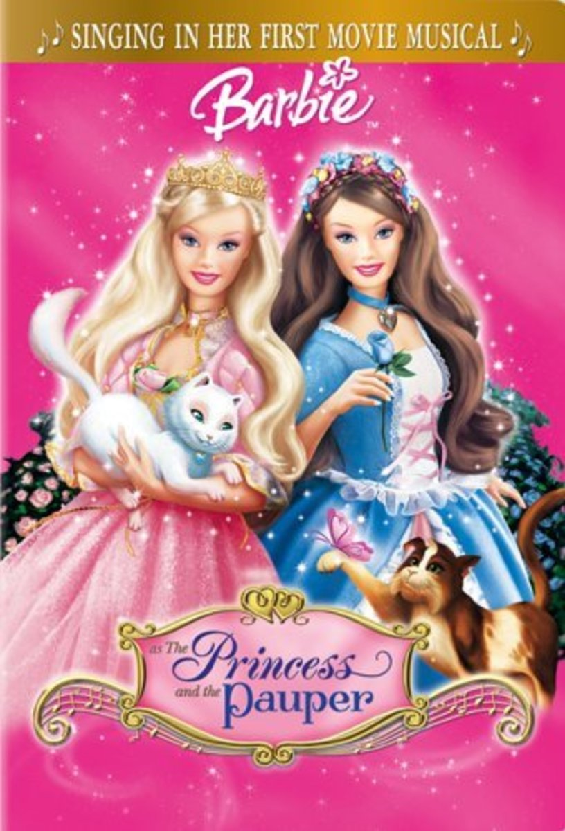 Barbie Princess and the Pauper - my personal all-time favorite Barbie movie (mostly for the music which is so good!)