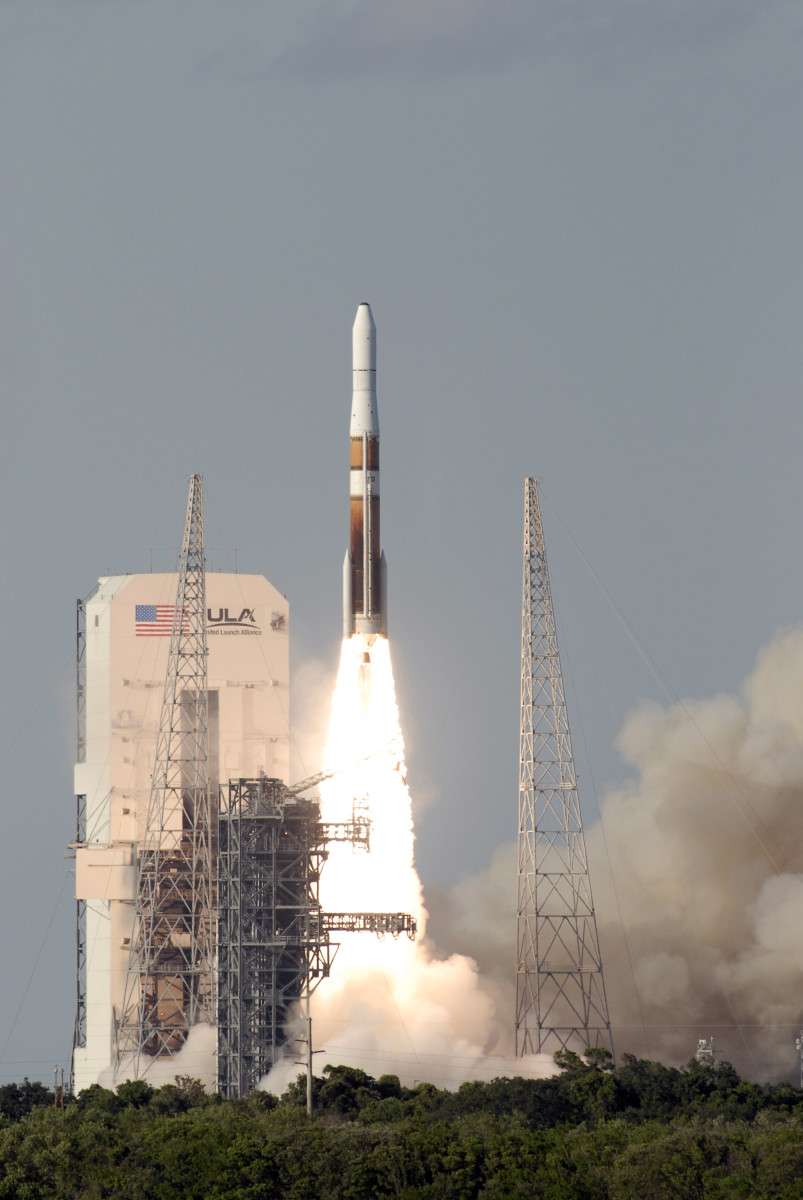 Satellite Launch of the Delta IV Rocket carrying GOES-O satellite