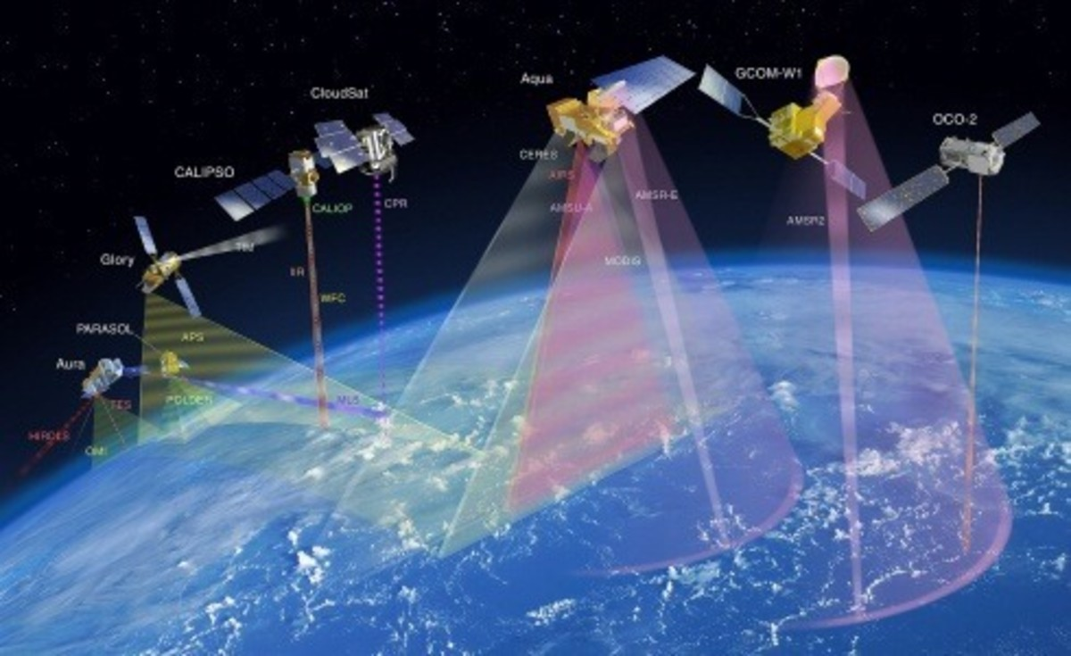 Two more climate change satellites are due to be launched in 2012 and 2013. All seven satellites should be able to give scientists a much better grasp of the realities of climate change along with how much of that change is manmade