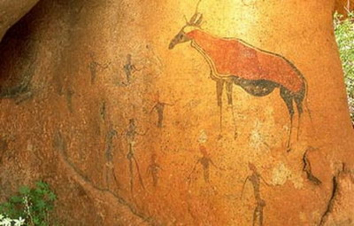 Contrary to other first arts of Africa, southern African rock art is not easily slotted into distinct regions. Successive generation of artists depicted similar themes and drew on a shared array of painting and engraving techniques.