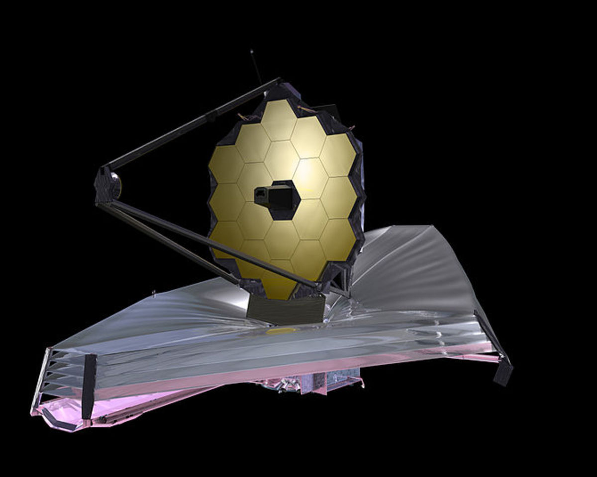 Illustration of the James Webb Space Telescope