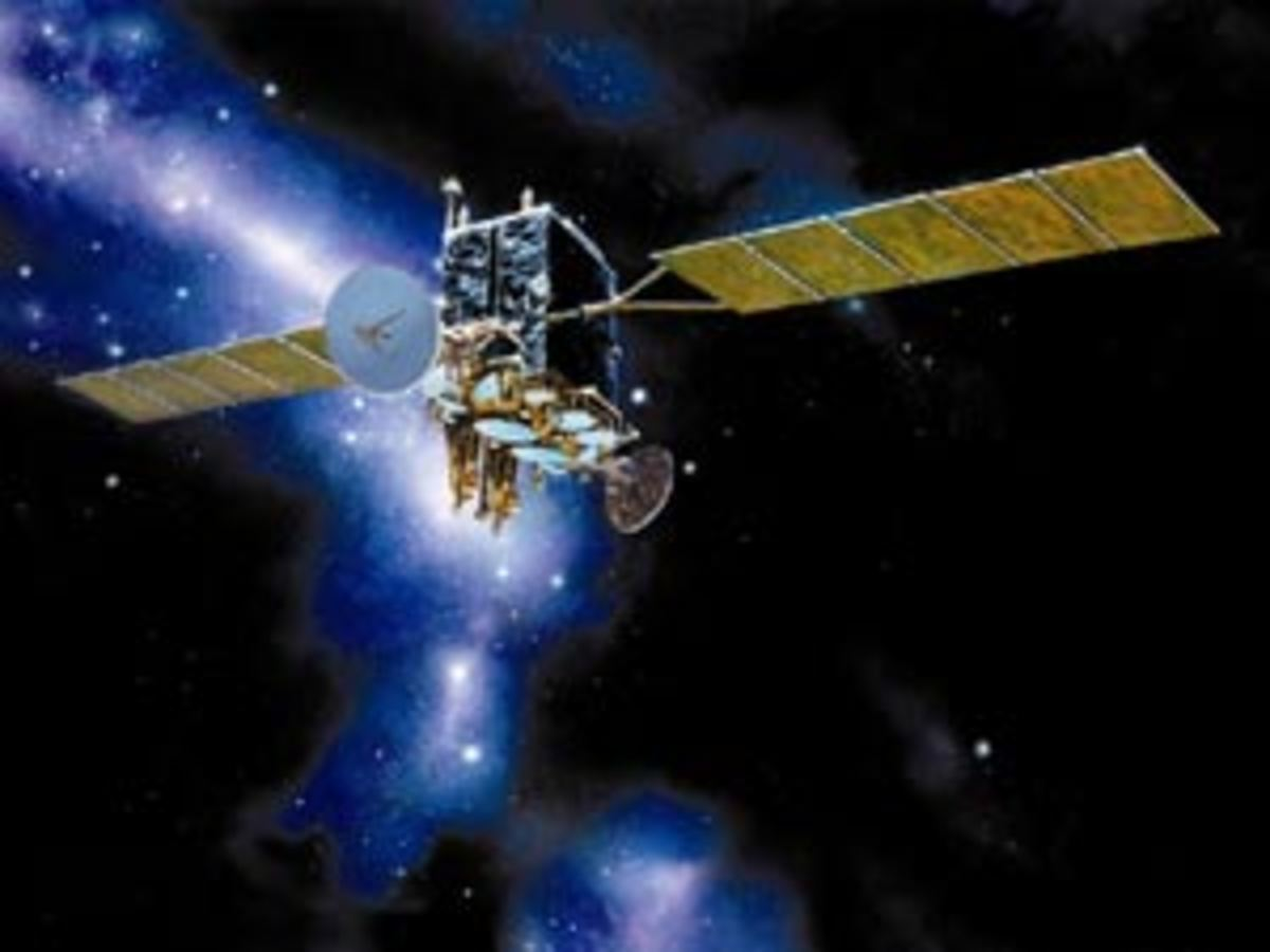 Advanced Extremely High Frequency(AEHF) Milstar III satellite,