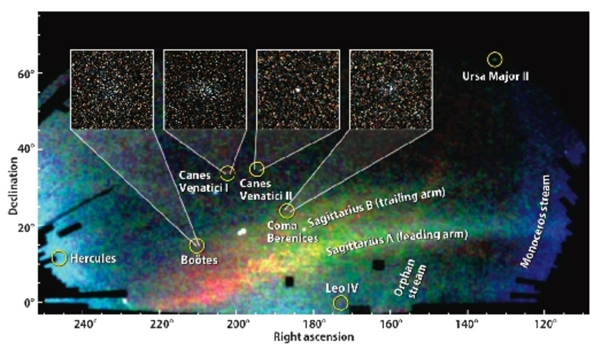SEGUE-1 was designed to explore the Milky Way structure; formation history; kinematics; dynamical evolution; chemical evolution; and dark matter distribution. The images and spectra obtained by SEGUE-1 allowed astronomers to map the positions and vel