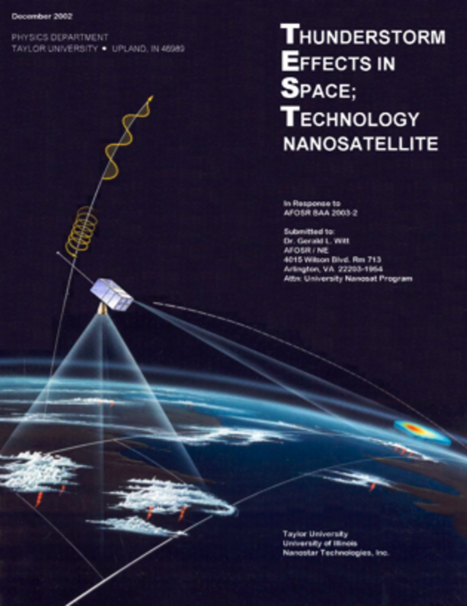 TEST(Thunderstorm Effects in Space; Technology  Nanosatellite)