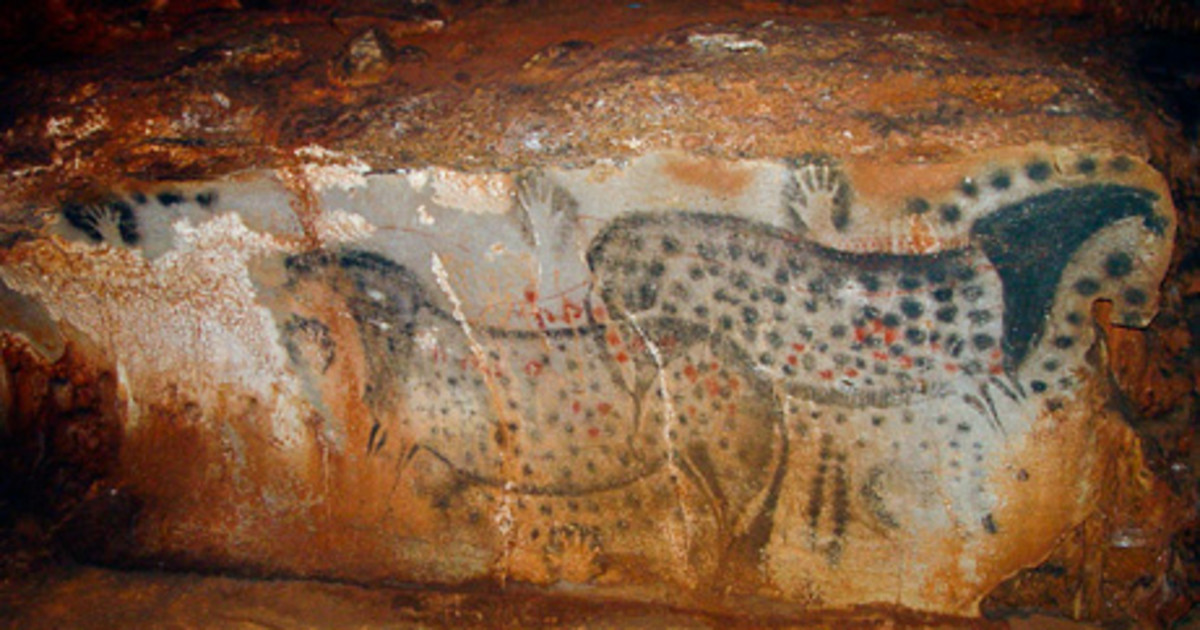 Until recently, most scientists assumed these prehistoric Cave paintings were male. .By measuring and analyzing the Pech Merle hand stencils, Snow found that many were indeed female--including those pictured here.