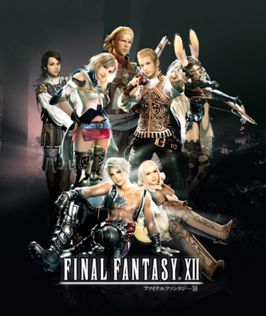 Group shot of the characters from Final Fantasy XII.