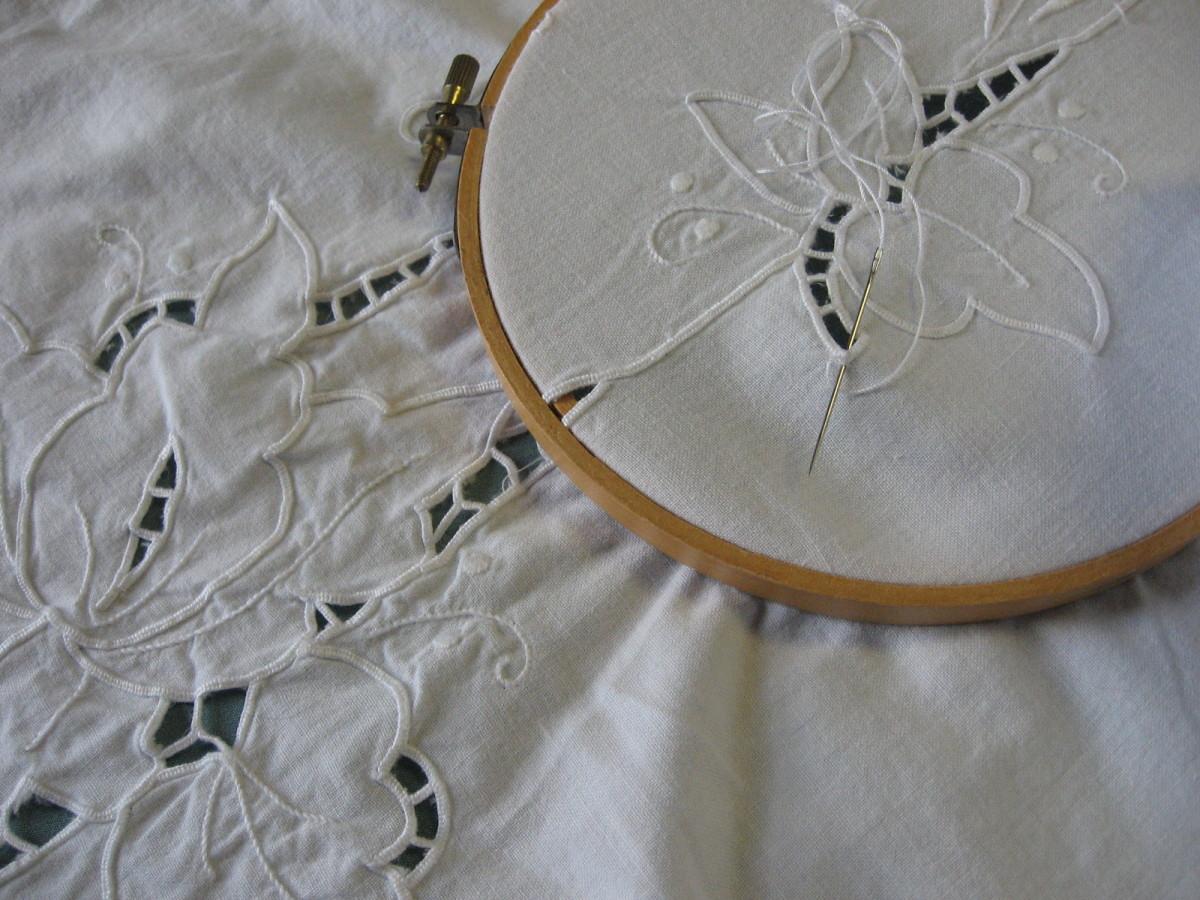 continuation of corner pattern