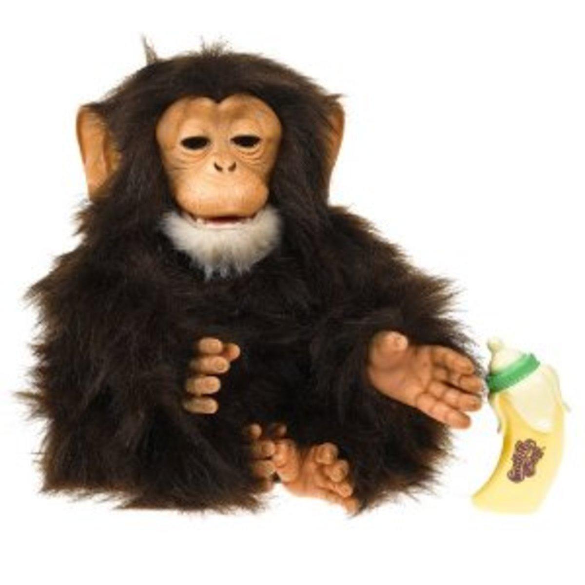 FurReal Cuddle Chimp