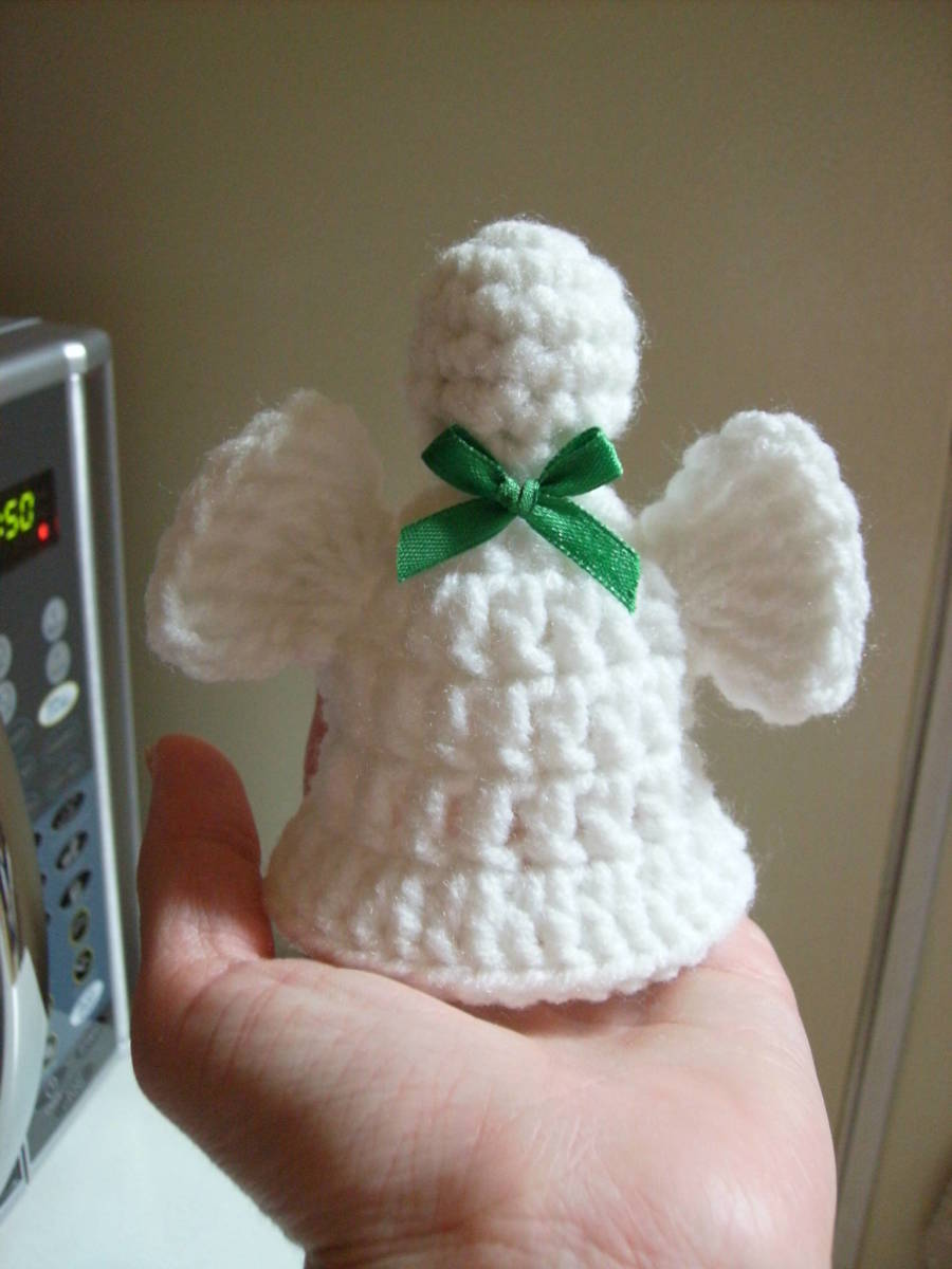 Crocheted Angel Bell