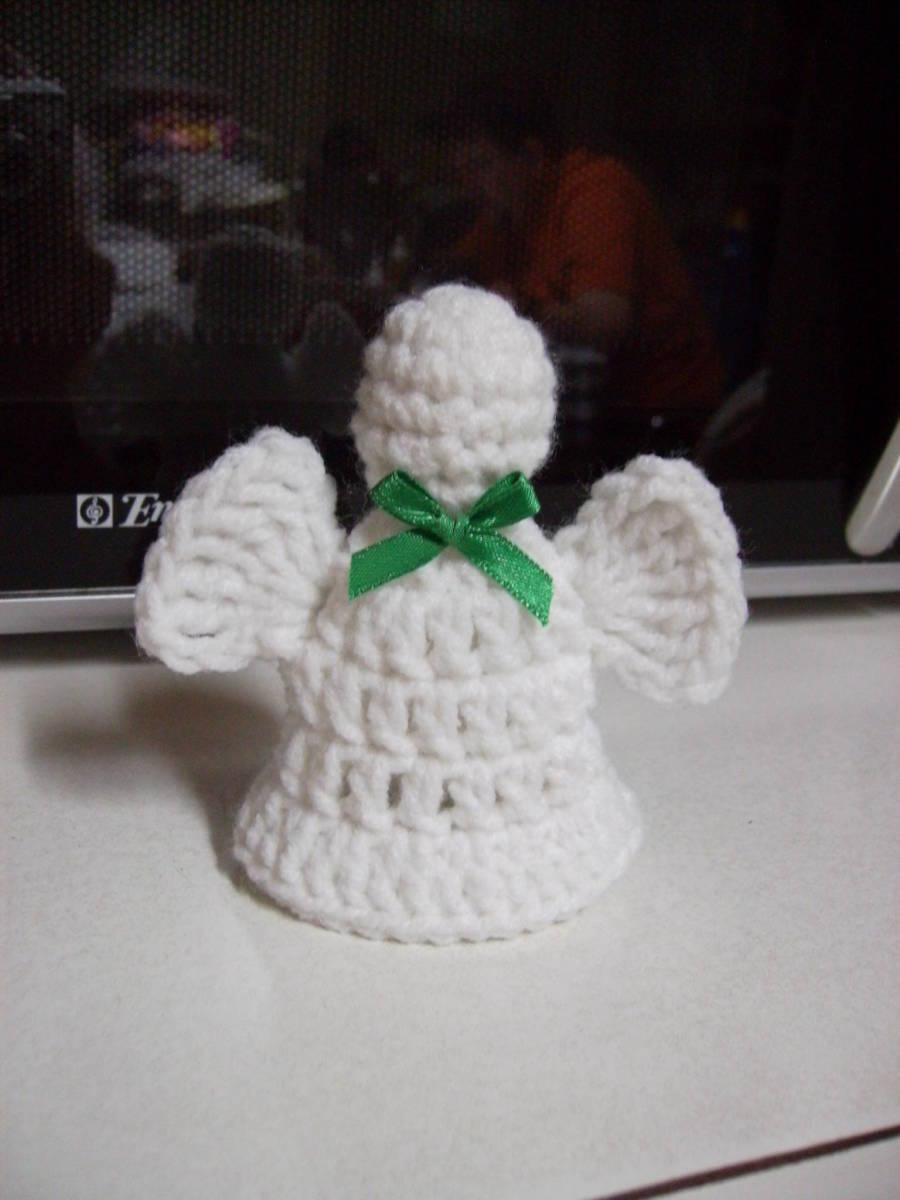 Crocheted Angel Bell