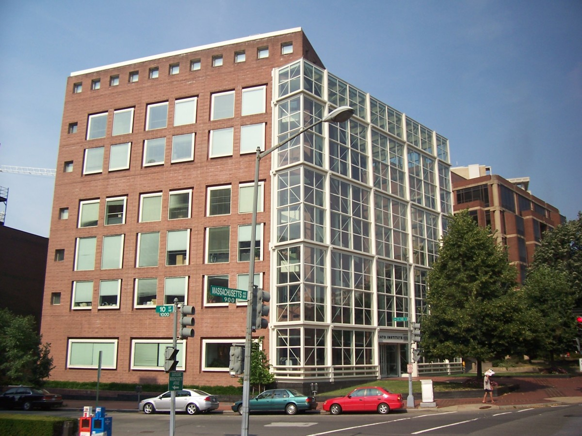 Cato Institute, Washington, D.C.  Image courtesy Wikipedia.