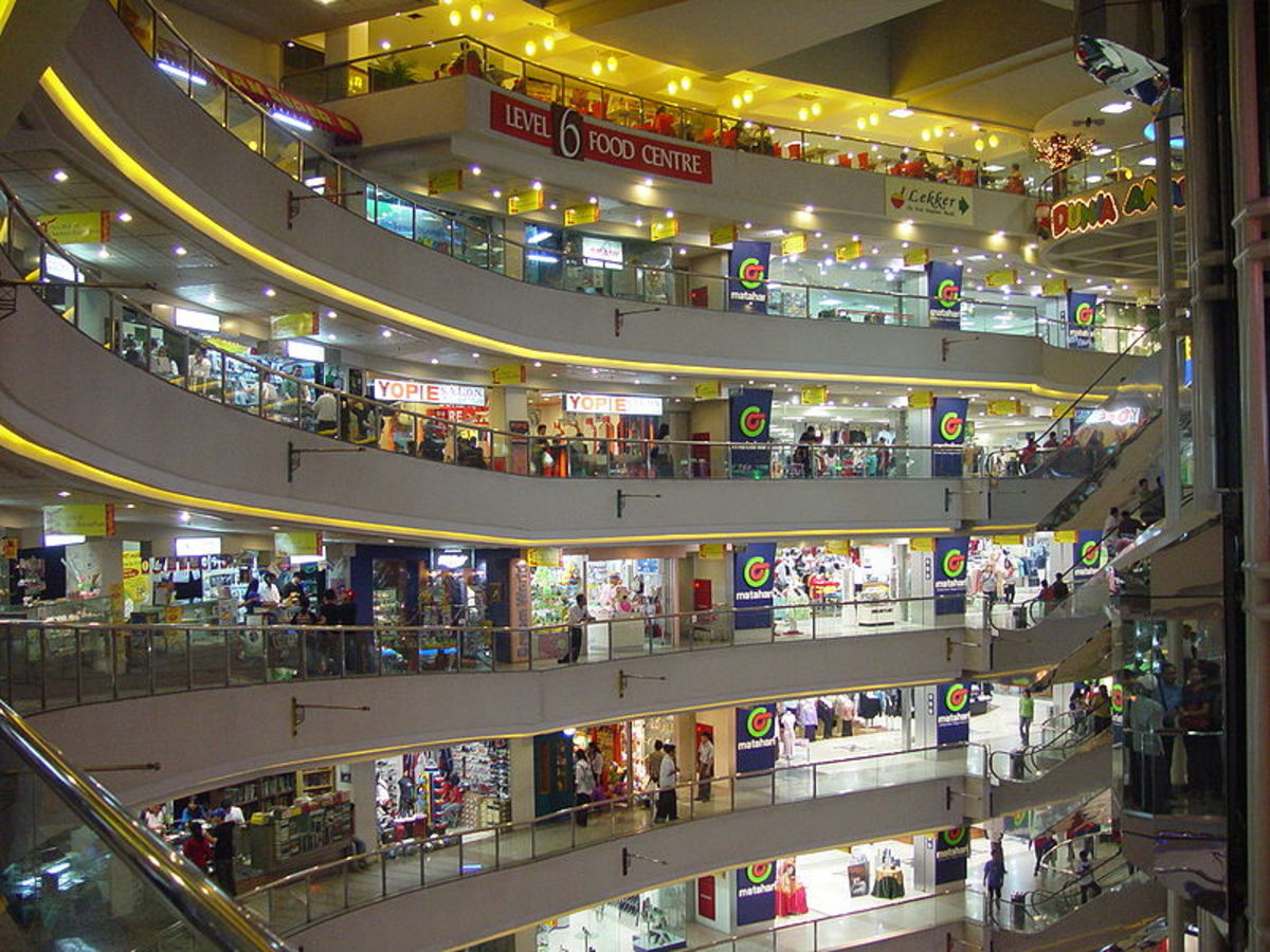 Mall scene in Jakarta, Indonesia.  Image courtesy Jonathan McIntosh and Wikipedia.