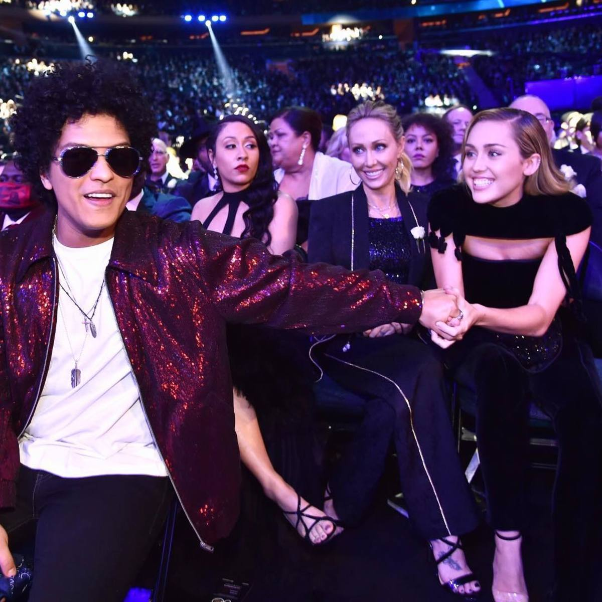 Miley and Bruno