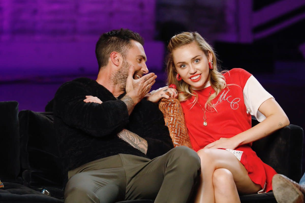 Miley and Adam
